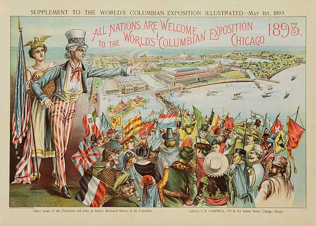 Chicago 1893 - World's Columbian Exposition