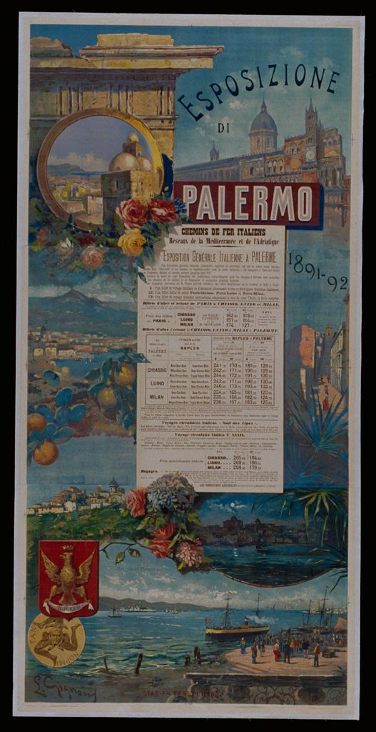 Palermo 1891 - Chemins de Fer